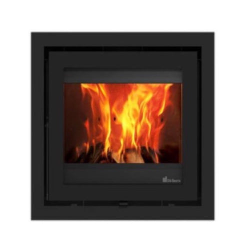 Dik Geurts Instyle 500 Built in Wood Fire Black