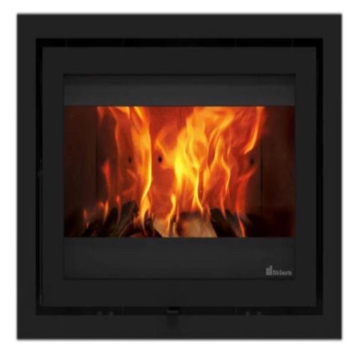 Dik Geurts Instyle 650 Wood Burning Stove Fire