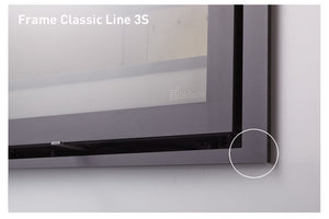 Dik Geurts Frame Clasic Line 3S Built in Wood Fire