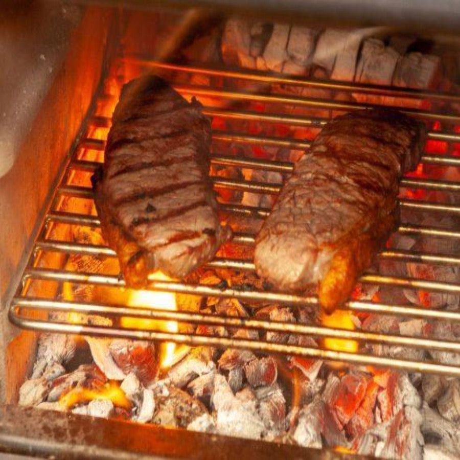 Esse Warmheart Cook Steaks in Stove Natural Country Living