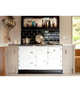 Esse Plus 500 Hot Cupboard Companion Range Cooker in Country Style Kitchen