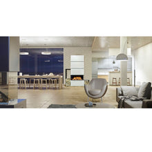 Load image into Gallery viewer, Evonic E-Mod 1 Fireplace Office Home Restaurant Steel and Glass