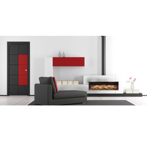 Evonic e1000gf Living Room Red and White Interior Design