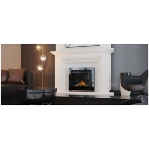 Evonic Kepler 22 Nickel Portrait Style Electric Fire