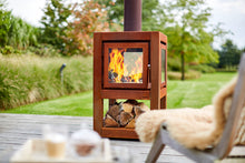 Load image into Gallery viewer, Quaruba Large mobile Outdoor Wood Stove