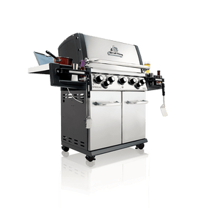 Broil King Regal S590 Infared BBQ Gas Side View Left