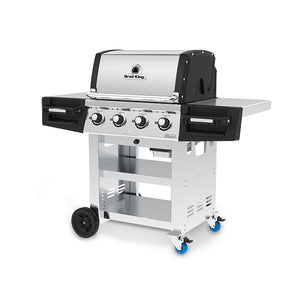 Broil King Regal S420 BBQ Gas Side view Right