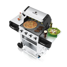 Load image into Gallery viewer, Broil King Regal S420 BBQ Gas Open View Cooking Food