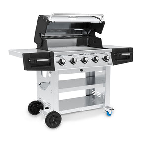 Broil King Regal S520 Commercial Gas BBQ Left Side View
