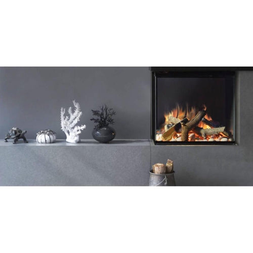 Evonic Thoren Electric FirePlace Full Glass