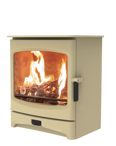 Charnwood Aire 7 Woodburning Stove Low Almond Colour