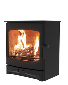 Charnwood Aire 7 Woodburning Stove Low Black Colour