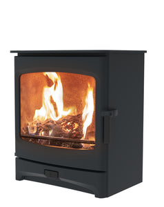 Charnwood Aire 7 Woodburning Stove Low Blue Colour