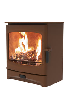 Charnwood Aire 7 Woodburning Stove Low Bronze Colour