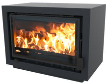 Load image into Gallery viewer, Bay BX Eco Design Wood Burning Fire Blue