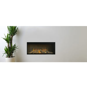 Evonic e700gf Electric Fire Full Glass Front Control Dimmer Effect Widescreen