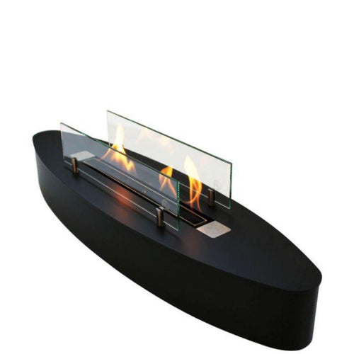 Ebios Elipse Base Mini Bio Ethanol Table Fire Mobile