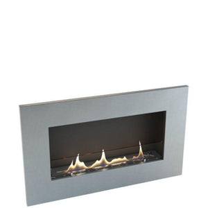 Oxford 600 Bio Ethanol Fire Built-In Wall Mounted