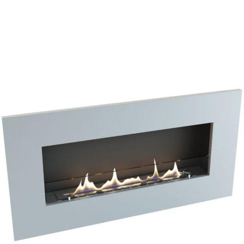 Oxford 700 Bio Ethanol Fire Built-In Wall Mounted
