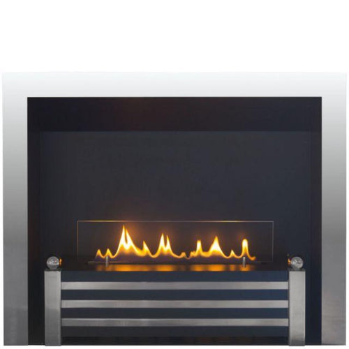 Ebios The City Bio Ethanol Fire Built-In Wall Mounted