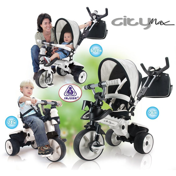 City Max Trike in Black and White