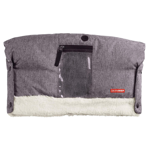 Skip Hop Stroll and Go On-call Hand Muff - Heather Grey