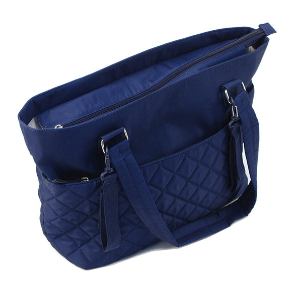 Summer Infant Quilted Tote Changing Bag - Blue