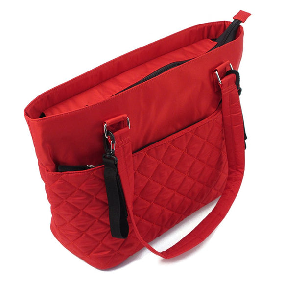 Summer Infant Quilted Tote Changing Bag - Red