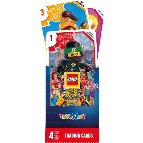 LEGO Collector's Trading Card 4 Pack