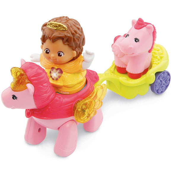 VTech Toot Toot Kingdom Princess Addie and Unicorn