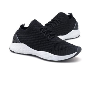 2018 Summer Male Shoes - Black White / 6.5
