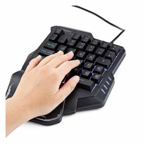 35 Key Gaming Keypad with LED Backlight - Keyboards - 35-key-gaming-keypad-with-led-back-light