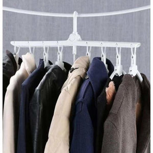 360 Degree Foldable Magic Hangers - Racks & Holders