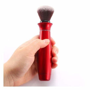 360 Rotating Makeup/Foundation Brush - Red - Eye Shadow Applicator