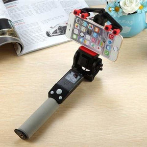 360 Rotation Selfie Stick - Black - Selfie Sticks