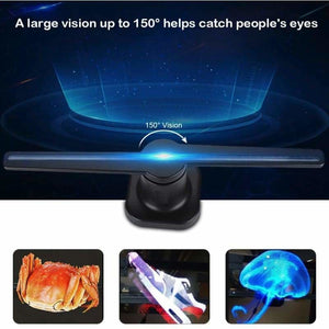 3D Holographic Air Fan Display - Advertising Lights - holomid-3d-holographic-air-fan-display