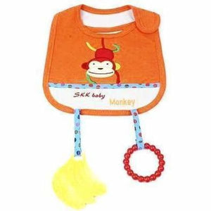 Animal Style Waterproof Baby Bibs - Monkey - Bibs & Burp Cloths