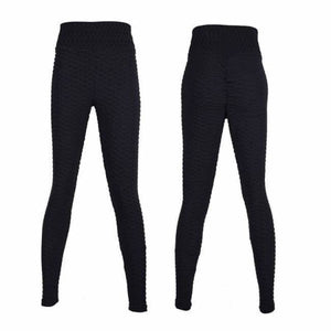 Anti-Cellulite Compression High Waist Leggings - Pants & Capris - anti-cellulite-compression-high-waist-leggings