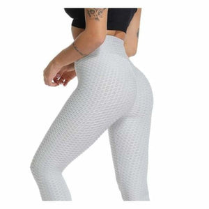 Anti-Cellulite Compression High Waist Leggings - Pants & Capris - White / S - anti-cellulite-compression-high-waist-leggings