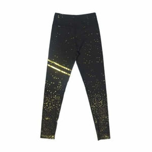Anti-Cellulite Compression Seamless Leggings - Leggings - Black Gold / S - anti-cellulite-compression-seamless-leggings