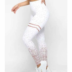 Anti-Cellulite Compression Seamless Leggings - Leggings - White / S - anti-cellulite-compression-seamless-leggings
