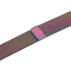 Apple iWatch Strap band in Milanese Steel - colorful / 38mm 40mm - Watchbands