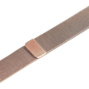 Apple iWatch Strap band in Milanese Steel - Gold / 38mm 40mm - Watchbands