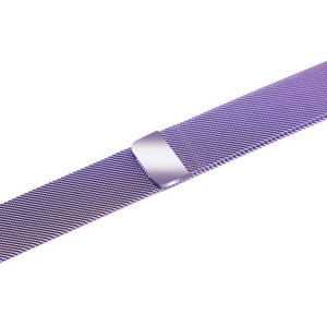 Apple iWatch Strap band in Milanese Steel - Lavender / 38mm 40mm - Watchbands