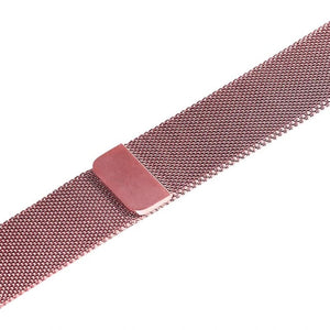 Apple iWatch Strap band in Milanese Steel - pink gold / 38mm 40mm - Watchbands