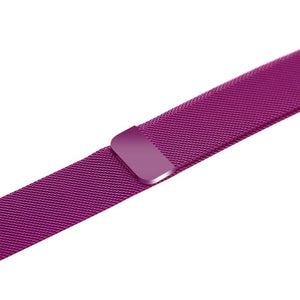 Apple iWatch Strap band in Milanese Steel - purple / 38mm 40mm - Watchbands