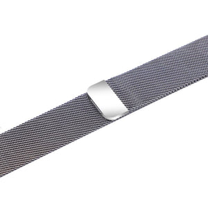 Apple iWatch Strap band in Milanese Steel - silver / 38mm 40mm - Watchbands