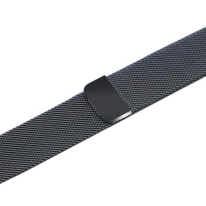 Apple iWatch Strap band in Milanese Steel - Space gray / 38mm 40mm - Watchbands