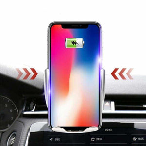 Automatic Clamping Car QI Wireless Charger - Car Chargers - automatic-clamping-car-qi-wireless-charger
