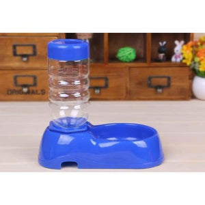 Automatic Water Dispenser & Feeder - Blue - Cat Feeding & Watering Supplies